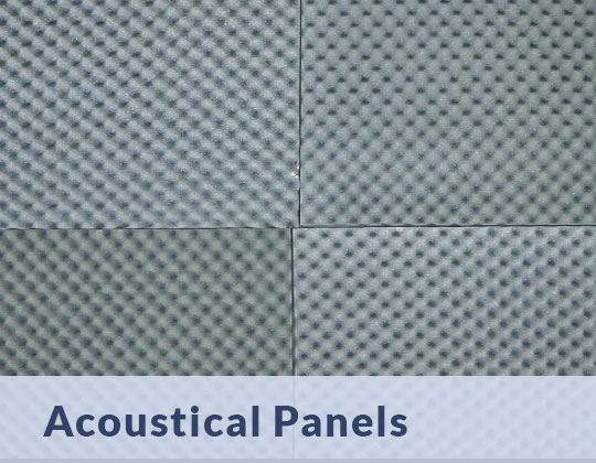 cleaning acoustical panels