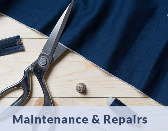 drapery maintenance repairs